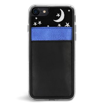 Nightsky Wallet Embroidered iPhone 7/8 Case