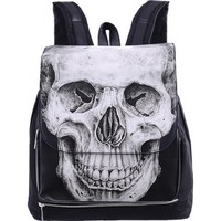Human Skull Restyle Backpack