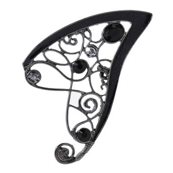 Blackheart Dark Fairy Ear Cuff