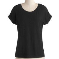 Breezy Basics Top in Black