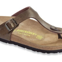 Gizeh Golden Brown Birko-Flor Sandals | Birkenstock USA Official Site