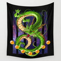 Dragon Ball Shenron Wall Tapestry by TxzDesign