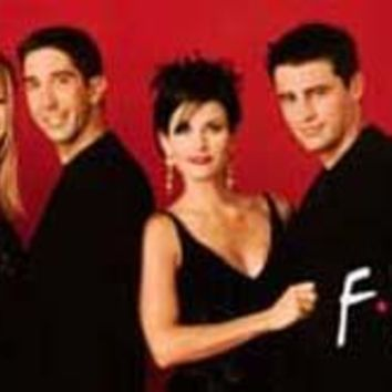Friends TV Show Poster 12x36