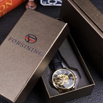 Forsining 3D Logo Watch