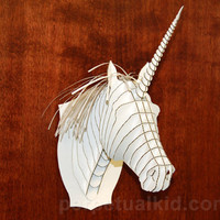 ANIMAL FRIENDLY UNICORN BUST