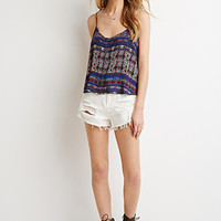 Abstract Stripe Cami
