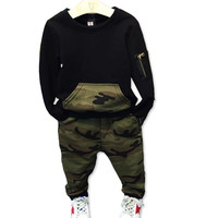 Camouflage Kids Boys Clothes