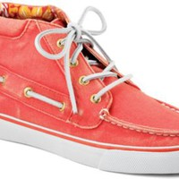 Sperry Top-Sider Betty Chukka Boot HotCoralCanvas, Size 11M  Women's Shoes