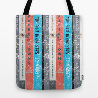 John Green's Books Tote Bag by Anthony Londer