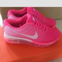 NIKE Trending Fashion Casual Sports Shoes Air section pink white