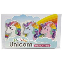 Rainbow Unicorn - Memo Tab Set