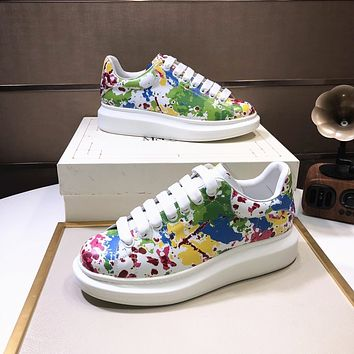 Alexander mcqueen   Woman's Men's 2020 New Fashion Casual Shoes Sneaker Sport Running Shoes 0415gh