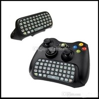 High Quality Text Messaging Controller Keyboard Chatpad for Xbox 360 Black White