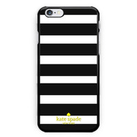 Kate Spade Logo Gold Print on Hard Plastic Case For iPhone 6/6s, iPhone 7 Plus