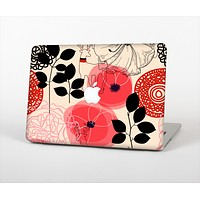 """The Pink Nature Layered Pattern V1 Skin Set for the Apple MacBook Pro 15"""" with Retina Display"""