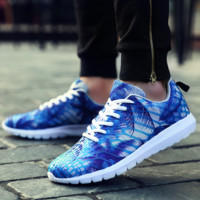 Unisex Colorful Breathable Running Sports Shoes Sneakers
