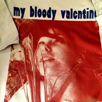 My Bloody Valentine new T-Shirt! Vintage Repro 80's 90's  Rock n' Roll UK Creation Records Britpop Kevin Shields Punk Shoegaze
