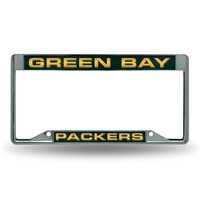 Green Bay Packers NFL Laser Chrome Frame