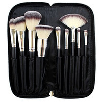 Morphe - SET 502 - 9 PIECE DELUXE VEGAN BRUSH SET