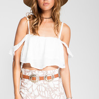 Stillwater The So Little Crop Top White