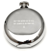 May You Never... 5oz. Flask by Izola