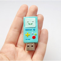 BMO usb flash drive, Adventure time usb, 8 GB usb flash, mint computer gadget, back to school