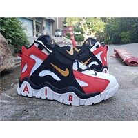 2019 Air Barrage Mid QS Black/Red/White