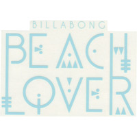 Billabong The Wave It Is Sticker Turquoise One Size For Women 21499524101