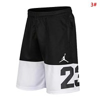 Jordan Fashion New Letter People Print Women Men Shorts 3#