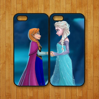 iphone 5C case,Elsa and Anna,Frozen,iphone 5S case,iphone 5 case,iphone 4 case,iphone 4S case,ipod 4 case,ipod 5 case,ipod case,iphone cover