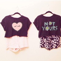 Arabelle Not Yours Daisy Top