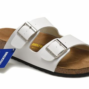 Men's and Women's BIRKENSTOCK sandals Arizona Birko-Flor 632632288-073