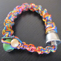 Bracelet style smoking pipe fit all sizes free gift