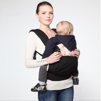 America Organic Cotton Ergonomic Baby Carrier Adjustable Baby Sling with Activity & Gear Portable Multifunctional Kid Carriage