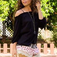 Atticus Lace Shorts