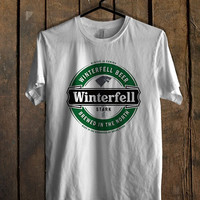 game of thrones winterfell beer T Shirt Mens T Shirt and Womens T Shirt *