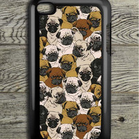 Doggy Pattern Colour iPod 4 Touch Case