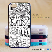 The Beatles Phone Case For iPhone 6 Plus For iPhone 6 For iPhone 5/5S For iPhone 4/4S For iPhone 5C iPhone X 8 8 Plus