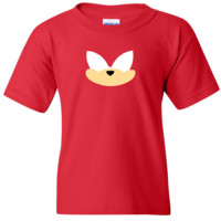 TurnTo Designs - Sonic the Hedgehog KNUCKLES Vinyl Red T-Shirt