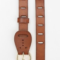 Singe Leather Skinny Belt - Urban Outfitters