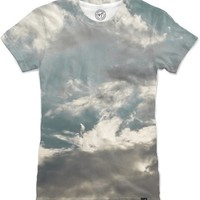Sky and clouds Women's T-Shirts by VanessaGF | Nuvango