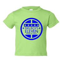 This BOY'S ELEVEN Made In 2003 ELEVENTH Happy  Birthday Tee Kids Youth Toddler Infant T Shirt Birthday T Shirt Only Here