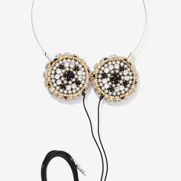 Skinnydip London Zara Martin Bling Headphones