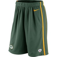 Nike Green Bay Packers Team Issue Mesh Shorts