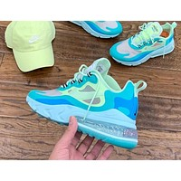 Nike Air Max 270 men and women all-match cushioning jogging shoes