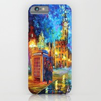 Sherlock and Big ben starry the night iPhone 4 4s 5 5c 6, pillow case, mugs and tshirt iPhone & iPod Case by Three Second