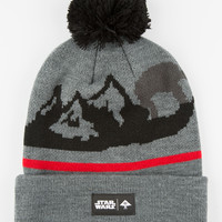 Lrg X Star Wars At-At Motherland Beanie Charcoal One Size For Men 26872511001