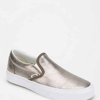 Vans Metallic Slip-On Women's Sneaker- Bronze