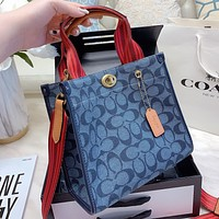 COACH New fashion pattern shoulder bag handbag crossbody bag