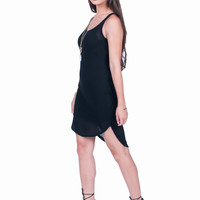 Black Knit Dress